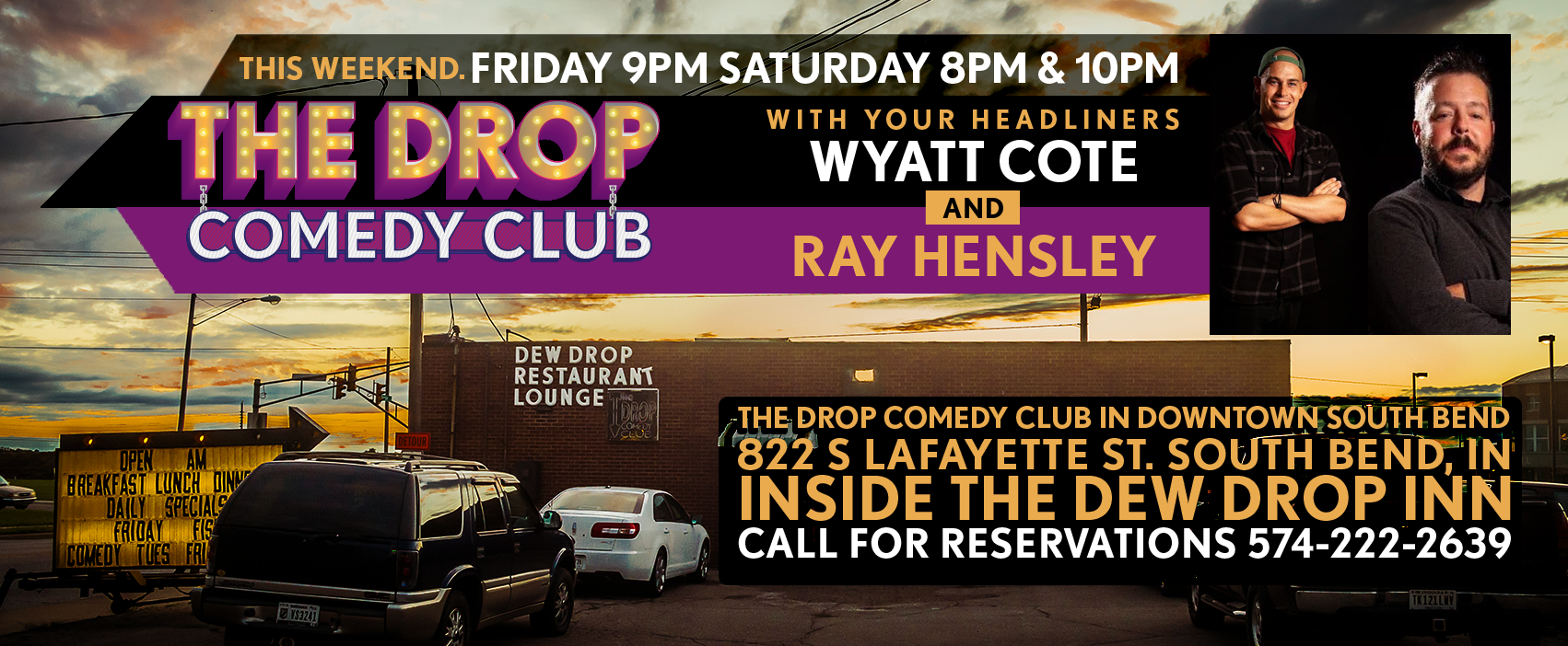 South Bend Restaurants Open Christmas Day 2020 The Drop Comedy Club   The Drop Comedy Club